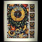 Michael Everett Grateful Dead Fall 1995 Tour Poster Uncut Proofsheet