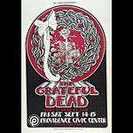 Randy Tuten Grateful Dead Rhode Island Concert  Poster - signed