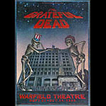 Dennis Larkins Original Grateful Dead Warfield Poster