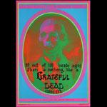 Victor Moscoso Neon Rose #13 Grateful Dead