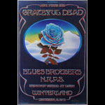 Stanley Mouse Grateful Dead Blue Rose Poster