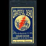 Grateful Dead Oaklnad 1992 Laminate