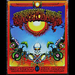 Rick Griffin Grateful Dead Aoxomoxoa Embossed Metal Sign