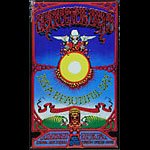 Rick Griffin Grateful Dead Hawaiian Aoxomoxoa Embossed Metal Sign