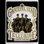 Grateful Dead Telluride Poster - signed