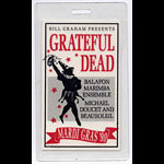 Grateful Dead Mardi Gras 1990 Laminate