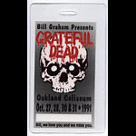 Grateful Dead Oakland Halloween 1991 Laminate