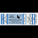 Grateful Dead Chinese New Year 1987 Ticket