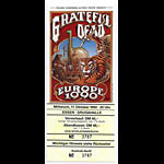 Rick Griffin Grateful Dead Europe 1990 Essen Ticket