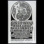 Randy Tuten Jerry Garcia John Lee Hooker Stop Heroin Benefit Poster - signed