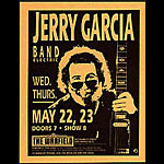 Jerry Garcia Band Photo Handbill