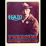 Rick Griffin HALO Haight Ashbury Legal Organization Benefit Poster