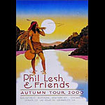 Pat Ryan Phil Lesh 2000 Autumn Tour Poster