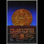 Harry Rossit Phil Lesh and Friends 1999 Tour Autographed  Poster