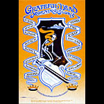 Robert Fried Grateful Dead Trip & Ski Poster