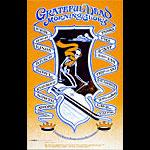 Robert Fried Grateful Dead Trip & Ski Poster
