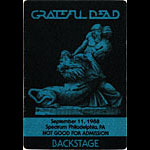 Grateful Dead 9/11/1988 Philadelphia Backstage Pass