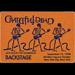 Grateful Dead 9/15/1988 New York City Backstage Pass