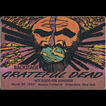 Reonegro Grateful Dead 3/28/1990 Uniondale NY Backstage Pass