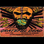 Grateful Dead 6/8/1990 Sacramento Backstage Pass
