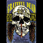 Grateful Dead 6/16/1990 Mountain View CA Backstage Pass