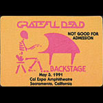 Grateful Dead - inspired by Stanley Mouse Egypt Design Backstage Pass