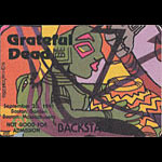 Reonegro Grateful Dead 9/20/1991 Boston Backstage Pass