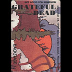 Reonegro Grateful Dead 9/25/1991 Boston Backstage Pass