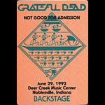 Stanley Mouse Grateful Dead - Stanley Mouse Egypt Design Backstage Pass