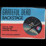 Grateful Dead 6/16/1993 Louisville KY Backstage Pass