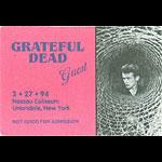 Grateful Dead 3/27/1994 Uniondale NY Backstage Pass
