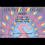 Grateful Dead 6/24/1994 Las Vegas Backstage Pass