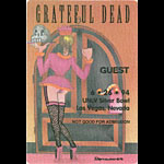 Reonegro Grateful Dead 6/26/1994 Las Vegas Backstage Pass