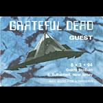 Grateful Dead 8/3/1994 NY Giants Stadium Backstage Pass
