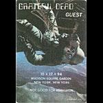 Grateful Dead 10/17/1994 New York City Backstage Pass