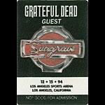 Grateful Dead 12/15/1994 Los Angeles Backstage Pass