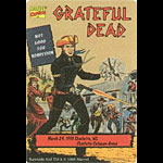 Grateful Dead Marvel Rawhide Kid Backstage Pass