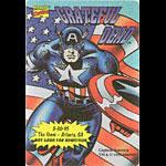 Grateful Dead 3/30/1995 Captain America Marvel Backstage Pass