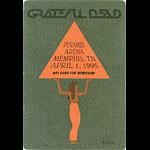 Grateful Dead 4/1/1995 Memphis Backstage Pass
