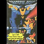 Grateful Dead 4/7/1995 X-Men Marvel Backstage Pass
