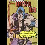 Grateful Dead 5/19/1995 Hangman Marvel Backstage Pass