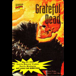 Grateful Dead 5/25/1995 Ghost Rider Marvel Backstage Pass