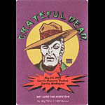 Grateful Dead 5/26/1995 Mr. Big Marvel Backstage Pass