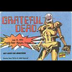 Grateful Dead 6/15/1995 Dr. Sun Marvel Backstage Pass