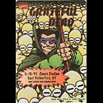 Grateful Dead 6/18/1995 Mole Man Marvel Backstage Pass