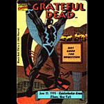 Grateful Dead 6/21/1995 Black Bolt Albany NY Backstage Pass