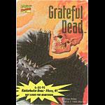Grateful Dead 6/22/1995 Ghost Rider Marvel Backstage Pass