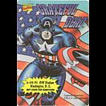 Grateful Dead 6/24/1995 Captain America Marvel Backstage Pass