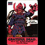 Grateful Dead 6/27/1995 Galactus Marvel Backstage Pass