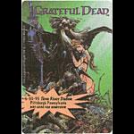 Grateful Dead 6/30/1995 The Legion Of Night Marvel Backstage Pass